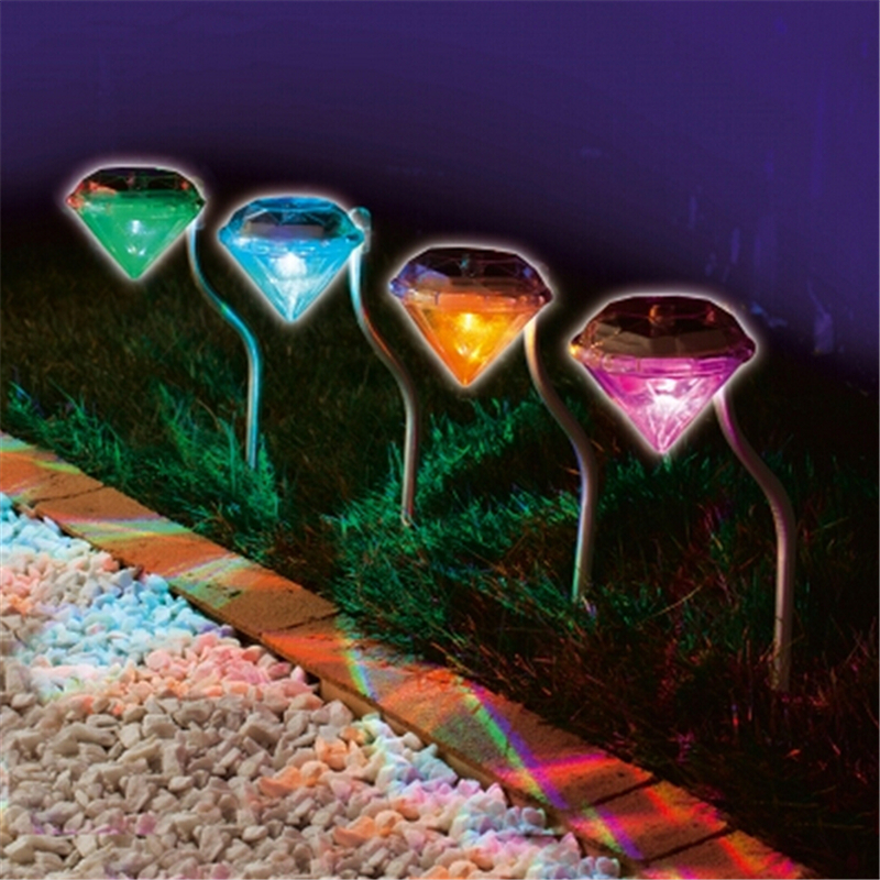 decorative solar lighting. Stainless Solar Lawn Light For Garden Decorative 100% Power Led Outdoor Lights Diamond Yard Lighting-in Lamps From Lighting L