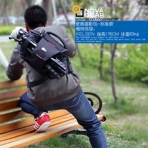 Image 4 - NOVAGEAR 80205 חדש נייד קטן נסיעות תיק מצלמה עמיד למים מזדמן כתף שקיות עבור Canon מיני מצלמה תיק עמיד הלם