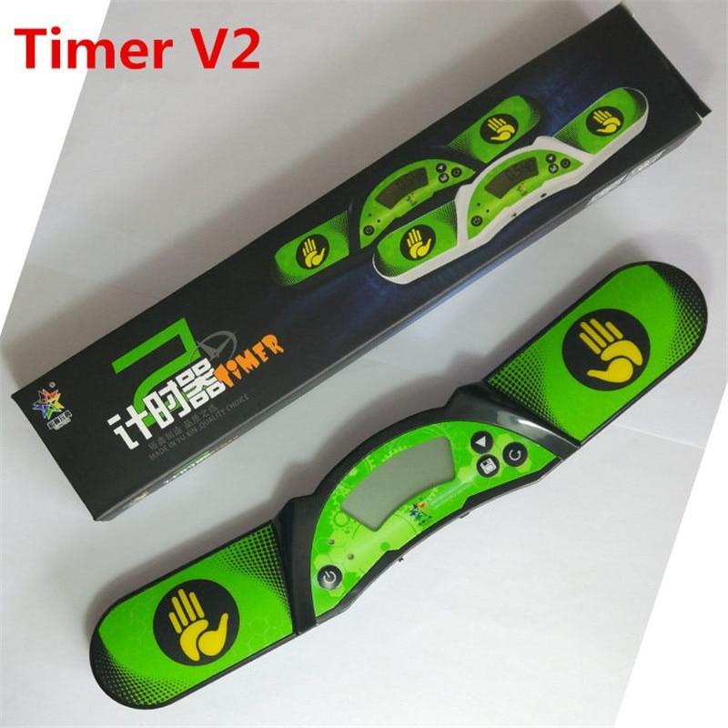 Yuxin cubo de velocidade temporizador v2 timer de alta velocidade profissional relógio do esporte de empilhamento da máquina para o cubo mágico para a competição