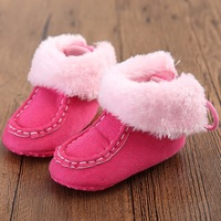 Toddler Shoes 0 1 Years Old Men And Women Baby Shoes Winter Soft Bottom Warm Snow