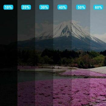 Sunice 100cmx6m 50%VLT Car Window Tint Film 4mil nano Ceramic solar tint protective glass sticker anti-UV car foils