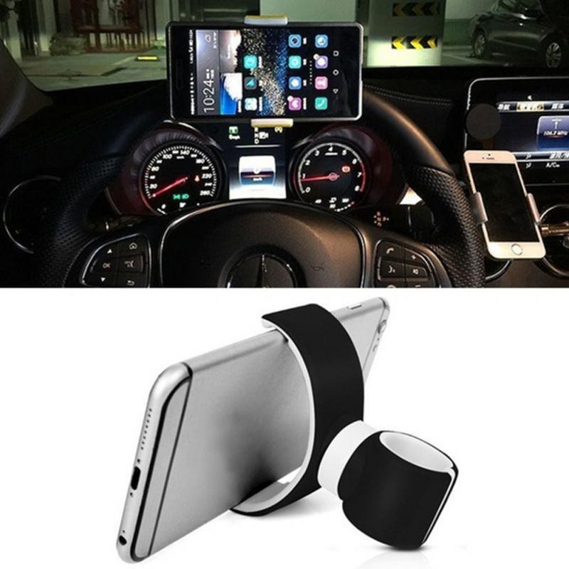 En gros 100 Pcs/lot nouveau support pour voiture de ventilation support 360 rotatif vélo vélo cellule support pour téléphone portable