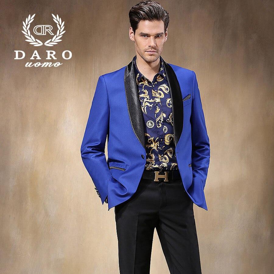 Brand DAROuomo New Slim Men Wedding Suits Groom Tuxedos Formal ...