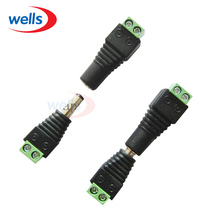 5 pairs DC Connector Male Female 5.5mm For LED Strip Light CCTV Camera