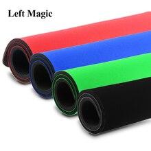 52*38 см большой профессиональный палубный мягкий коврик для покера, волшебные трюки, красный, синий, черный, монета, покерная площадка, магический реквизит, иллюзия мага