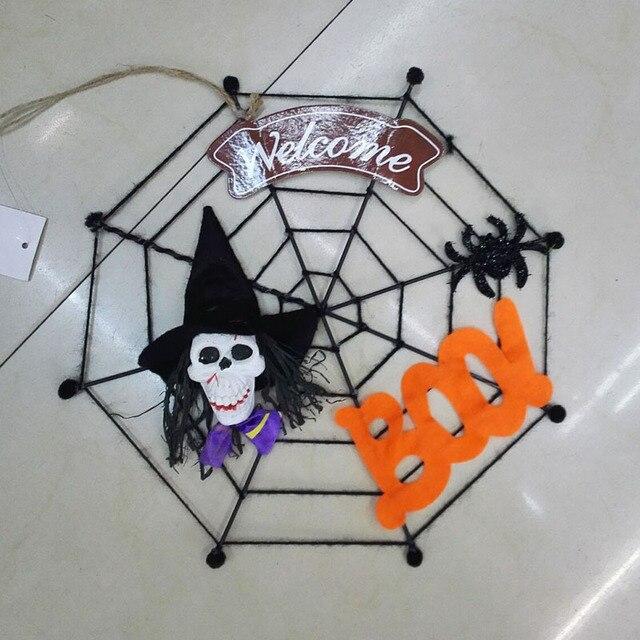 hot halloween door decorate hanging door human skeleton witch, Skeleton