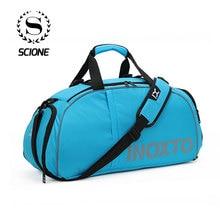 Scione 40L Водонепроницаемая дорожная сумка через плечо многофункциональный багажный Чемодан большой вещевой однотонный рюкзак выходные спортивные туфли сумочка