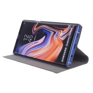 Image 2 - FDCWTS Flip funda cuero cartera caja del teléfono para Samsung Galaxy Note 9 SM N960 N960F SM N960 SM N960F Samsung Samsun