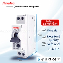 RCCB 1P+ N 32A 10mA электромагнитный выключатель с остаточной утечкой RCBO