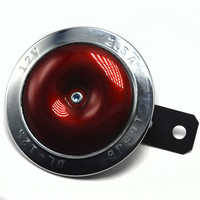 Fast shipping Chrome plated New 12V Horn for Motorbike Motorcycle  Chopper Scooter High Cost Performance  Free shipping