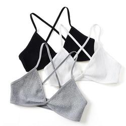 New Sexy Bras For Women Ultra-thin Wire Free Female Bralette Seamless Solid Women Bras Ladies Sexy Lingerie Femme Underwear 2
