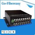 100% New Sell CCTV 16Channels Fiber Optic Video Convertor 16 channel Video to fiber converter/Fiber optic Video Multiplexer