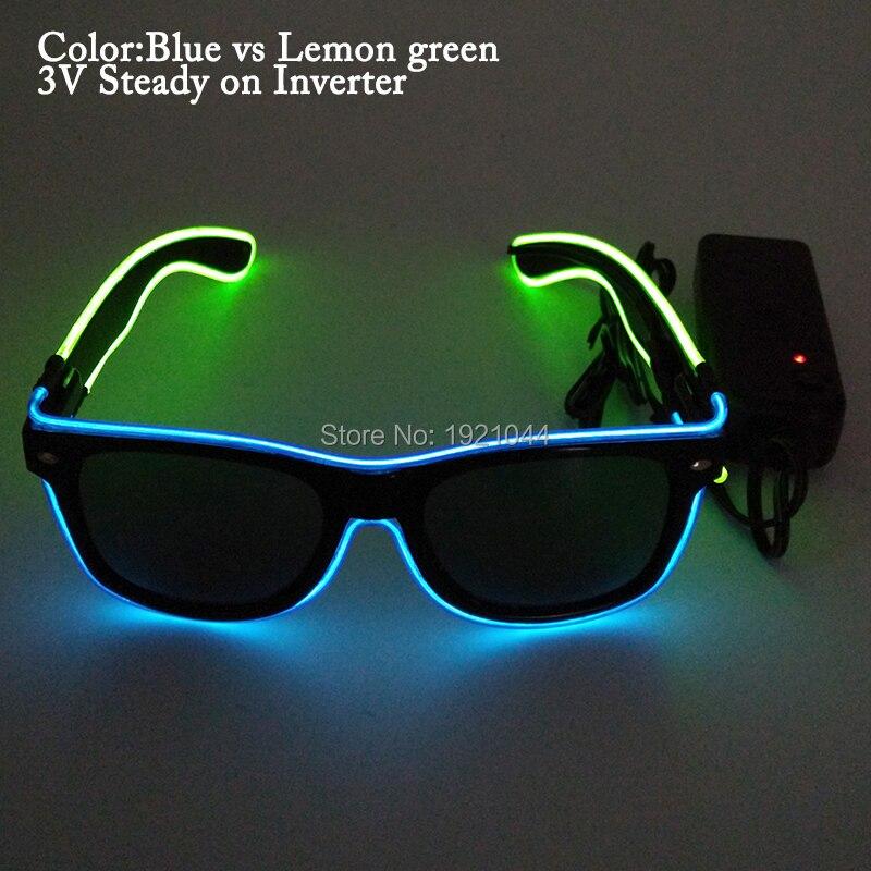 blue lemon green