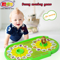 CongMingGu Cartoon Monkey Match Game Toy For Kids Learn Simple Matching Game Toys Children Gift Baby