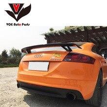 Углеродное волокно Универсальный спортивный Стиль автомобиля-стильный значок задний спойлер, крыло, багажник для Audi A3 S3 A4 A5 A6 A7 TT