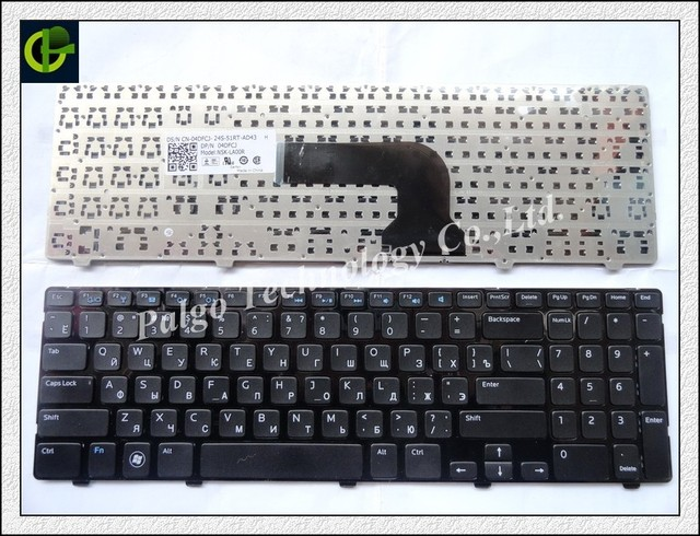 New Russian Keyboard for Dell PK130SZ4A06 V137325AS1 PK130SZ1A06 RU Black laptop keyboard