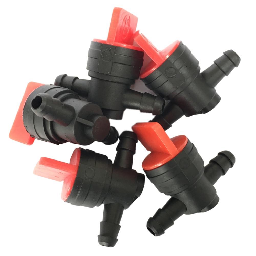 5X 1/4 Inline Gas Fuel Cut off Shut Off Valve For Briggs Stratton 494768 698183 3924450 2001es 12 fuel shutdown solenoid valve for cummins hitachi