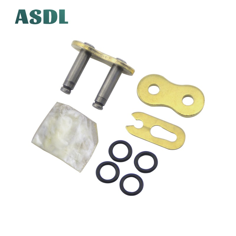 Motorcycle Chain Buckle Ring Link 428 520 525 530 Chain O-Ring O Ring Connector Lock Thicken #b