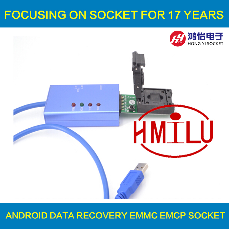 EMMC153 169 EMCP162 189 EMCP221 EMCP529 socket 6pcs for your Choice data recovery tools for font
