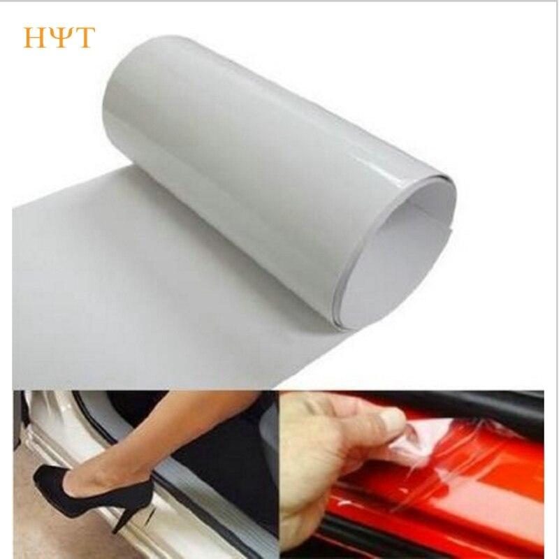 Car styling 10cm x3m rhino skin sticker car bumper hood for Pvc car