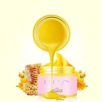2pcs Honey Paraffin Wax Hand Mask Moisturizing Whitening Skin Care Exfoliating Gel Calluses Anti Wrinkle Skin Care Hand Cream Skin Care