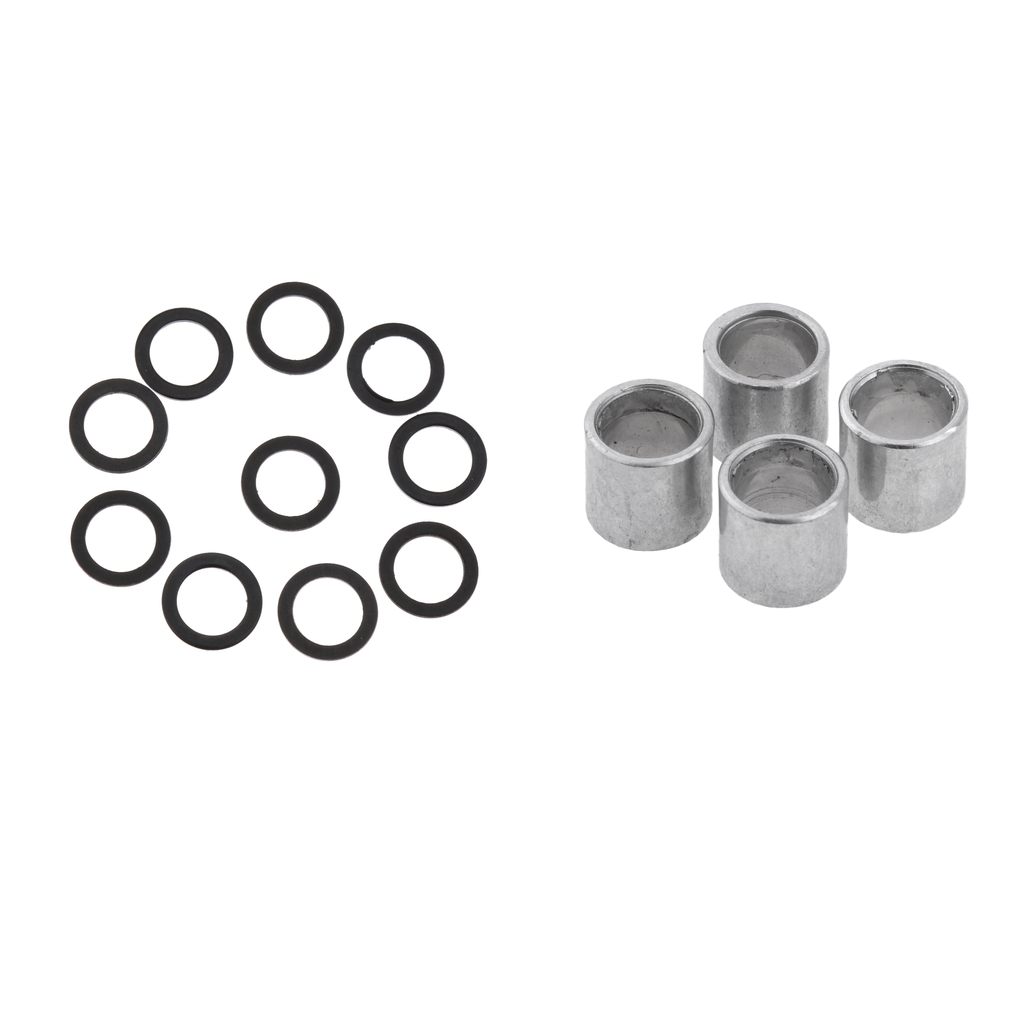 14pcs Longboard Speed Washers And Spacers Skateboard Bearing Spacers Speed Rings Skates Hardware Truck Axle Accessories