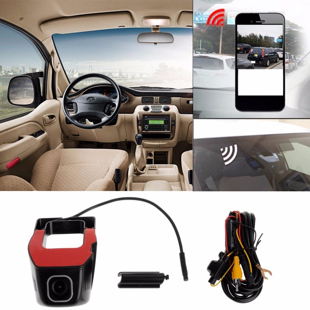 Full HD 1080P WIFI Car DVR Dash Cam Night Vision Car Camera Decor 170 Degree Automobiles Driving Video Recorder CCTV Kit