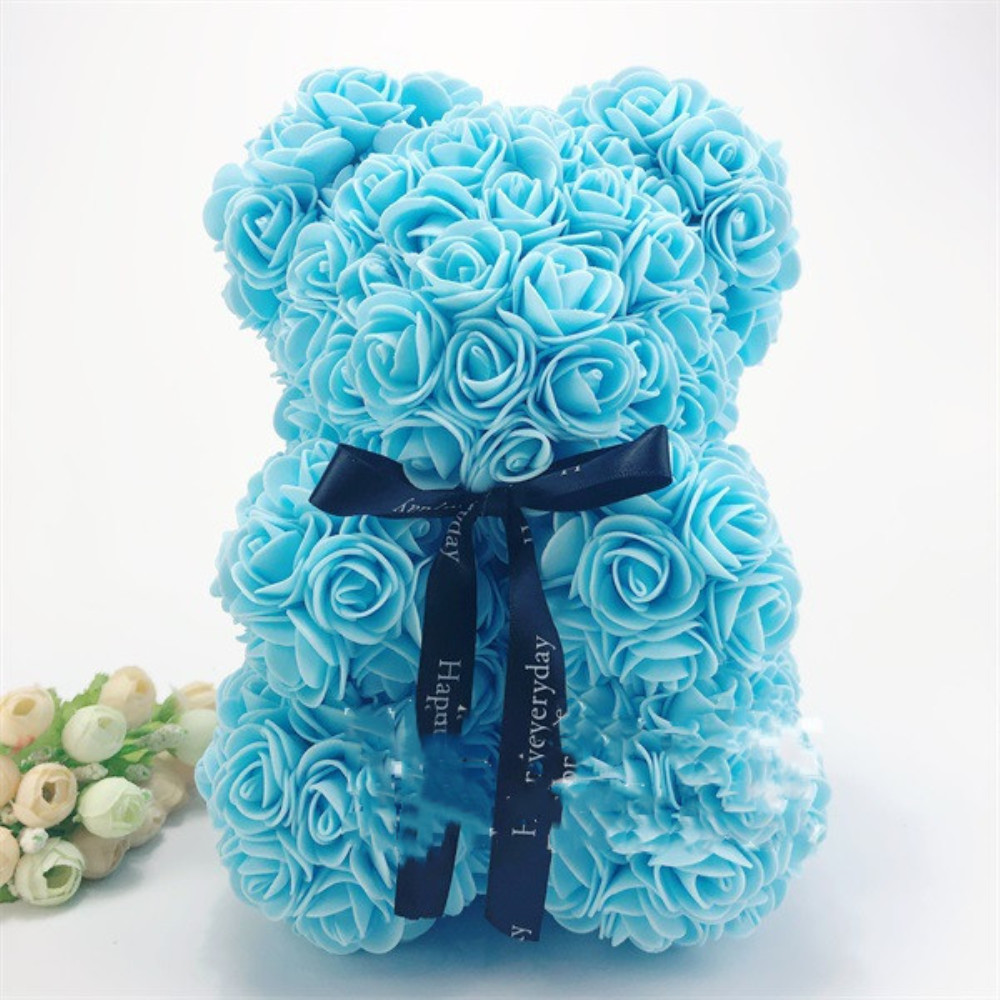 Beauty & Health Mascot Rose Flower Soap Bear 25cm Plush Toy Scented Bath Soap Romantic Lovers Valentines Day Birthday Gift Wedding Present