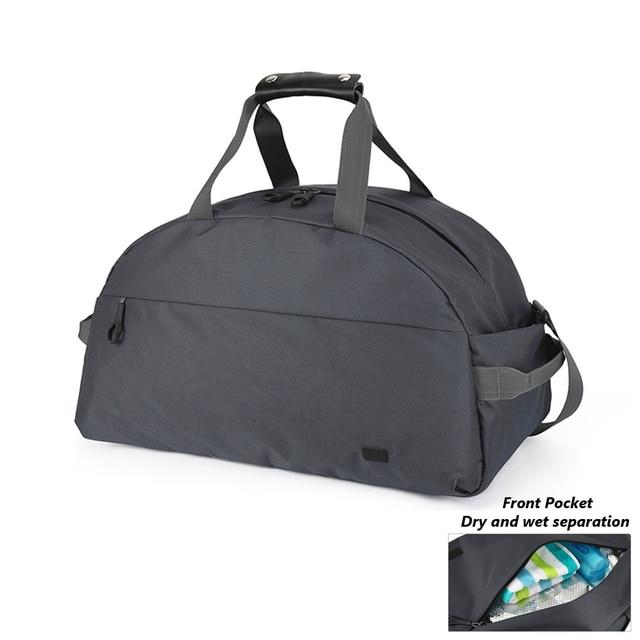 Waterproof Outdoor Sports Single Shoulder Fitness Bags Large Capacity Travel Handbag Man Training Basketball Gym Bag