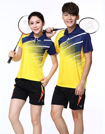 New Qucik Dry Badminton Sports Shirts Clothes Women/Men,Tennis Suit ,Tennis Set, Table Tennis Shorts Set, Badminton Wear Sets