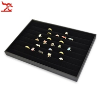 14 Jewelry Display Ring Holder Cradle In Black Ring Display 3pcs Per Lot Free Shipping