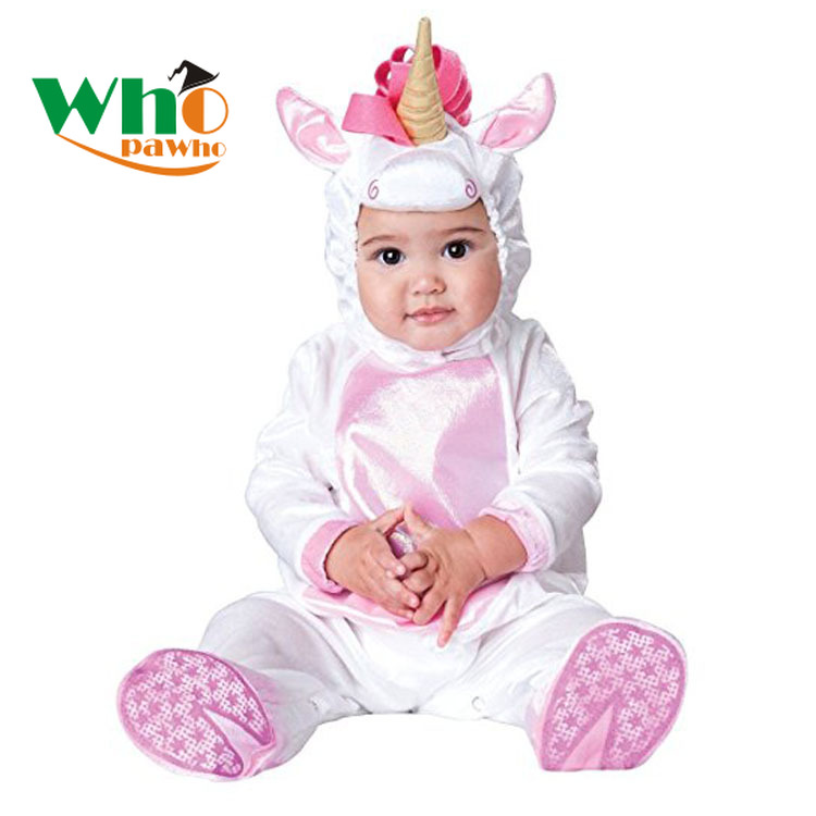 Infant Child Baby Romper Halloween Christmas Unicorn Tiger Baby Animal Pig Costume Autumn Spring Fashion Show Dog Clothes