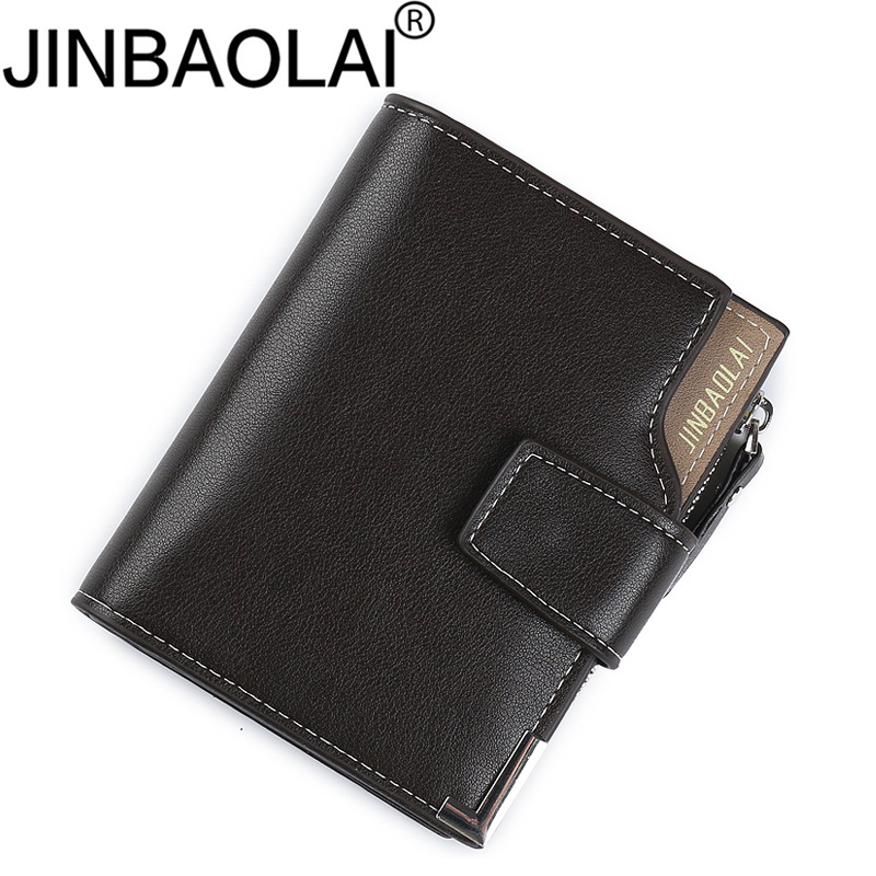Zipper Small Coin Male Men Wallet Purse Portomonee Card Holder Walet Cuzdan Money Vallet Business Card Holder Kashelek Partmone