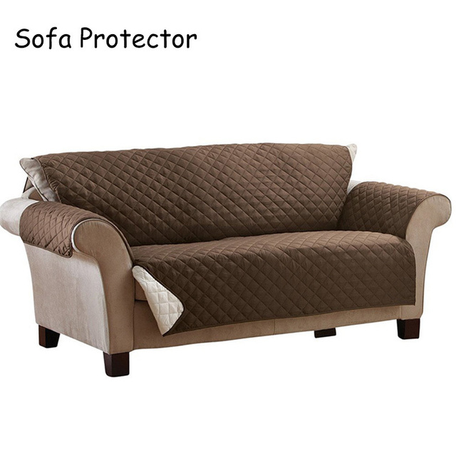 Superior 100% Polyester Sofa Cover Anti Skid Dirt Proof Sofa Protector Suede Pet Dog