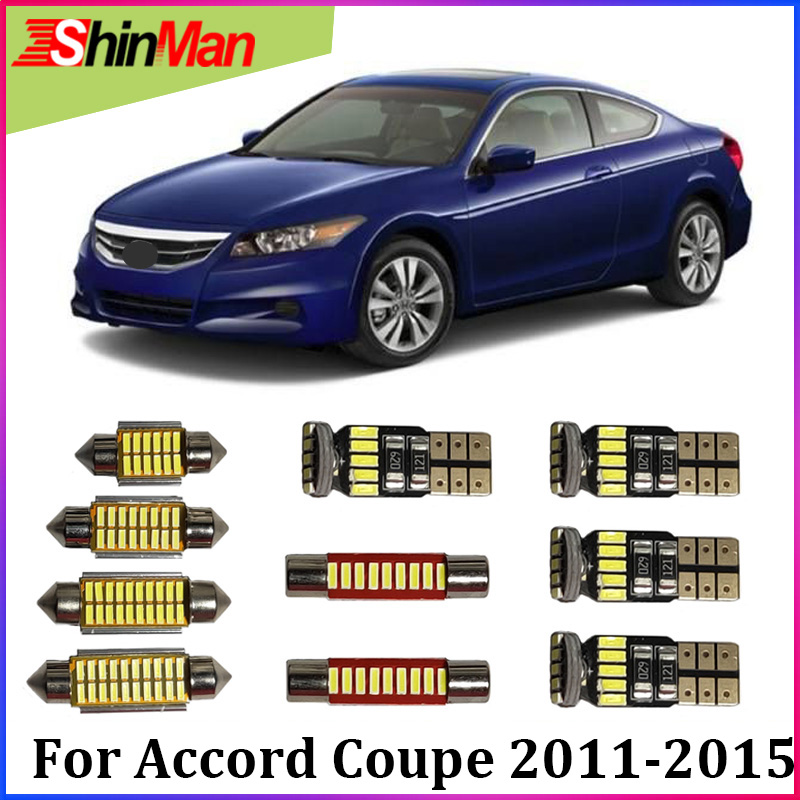 Buy shinman 12x error free led car light - 2015 honda accord interior illumination ...