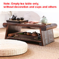 Foldable Wooden Japanese Tea Table For Living Room Furniture Modern Minimalist Tatami Coffee Folding Low Side Table Solid Wood