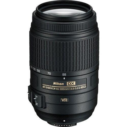 Nikon 55-300 Lens Nikkor AF-S 55-300mm f/4.5-5.6G ED VR Zoom lenses for Nikon D3XXX D5XXX D7XXX D90  D300 D500