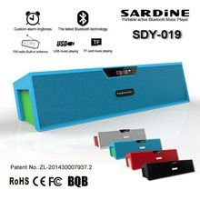 Original Sardine SDY019 Portable Bluetooth Speaker 10W Stereo Wireless Sound Bar Box HIFI Music Player FM Radio USB