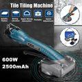 600 Вт машина Вибраторы высокой мощности плитки Электрический пол плитка инструмент + 2x2500mAhBatteries
