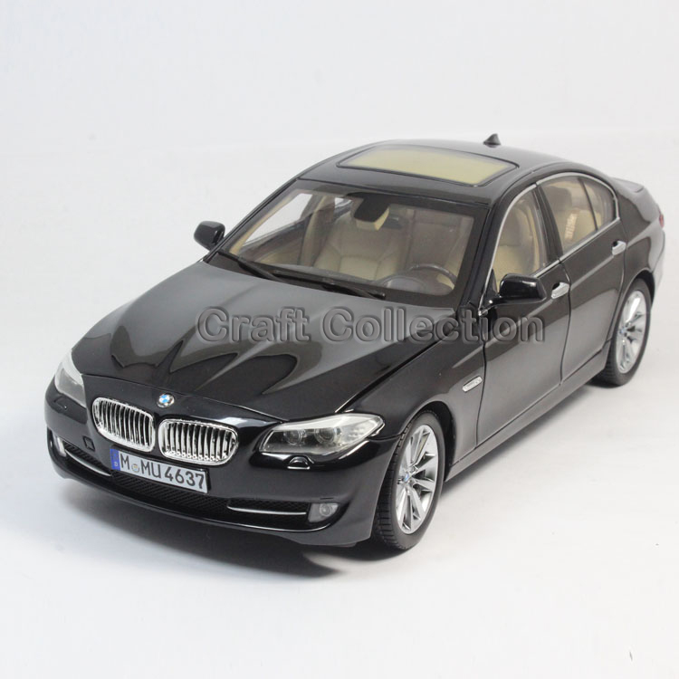 * Black 1:18 Classical Car Model 535Li 535i 5 series 2016 Sedan Diecast Model Car Luxury Gifts Rare Miniature