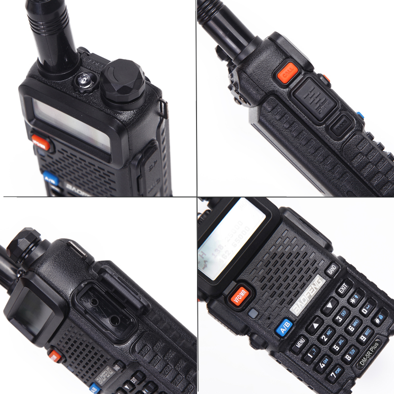 Image 3 - Baofeng DM 5R PLUS TierI TierII Tier2 Repeater Digital Walkie  Talkie DMR Two way radio VHF/UHF Dual Band radio  DM5R PLUSWalkie  Talkie
