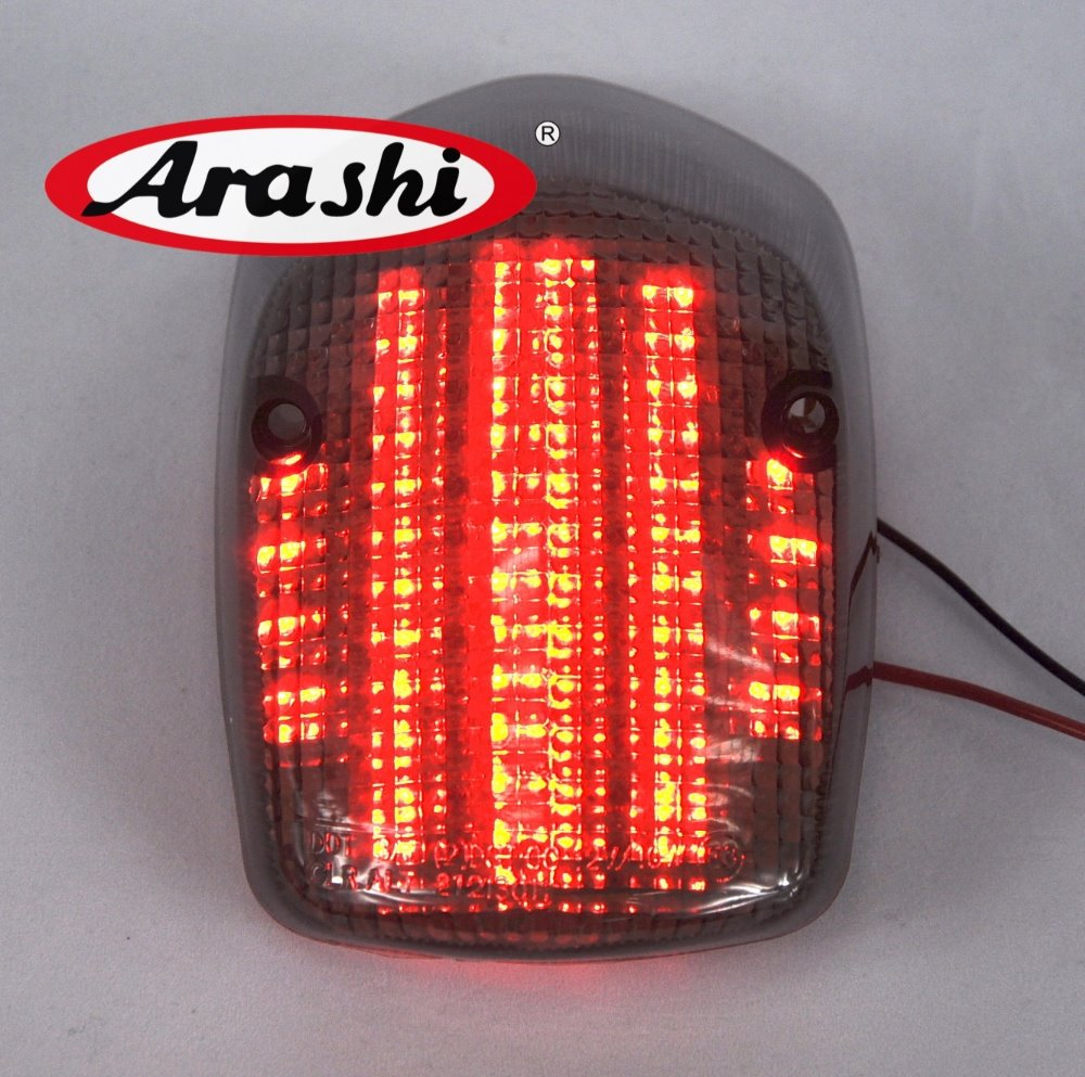 Араши e-mark LED Фонарь для Honda Sabre 1100 2000-2007 куда ACE 750 deluxe 750 отложным воротником световой сигнал задний тормоз фонарь ...