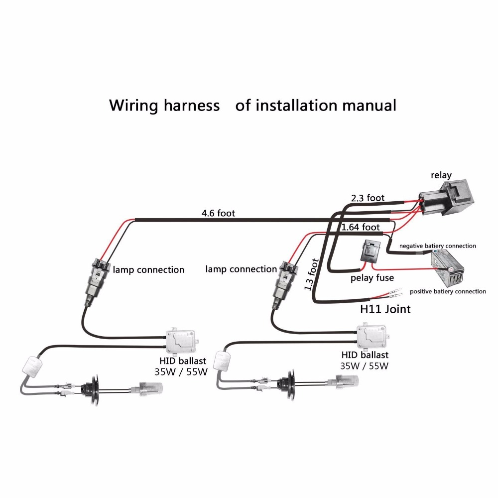 h4 hid relay wiring diagram switches   relays 2 pcs gr universal h4 bulb harness wiring relay  gr universal h4 bulb harness wiring