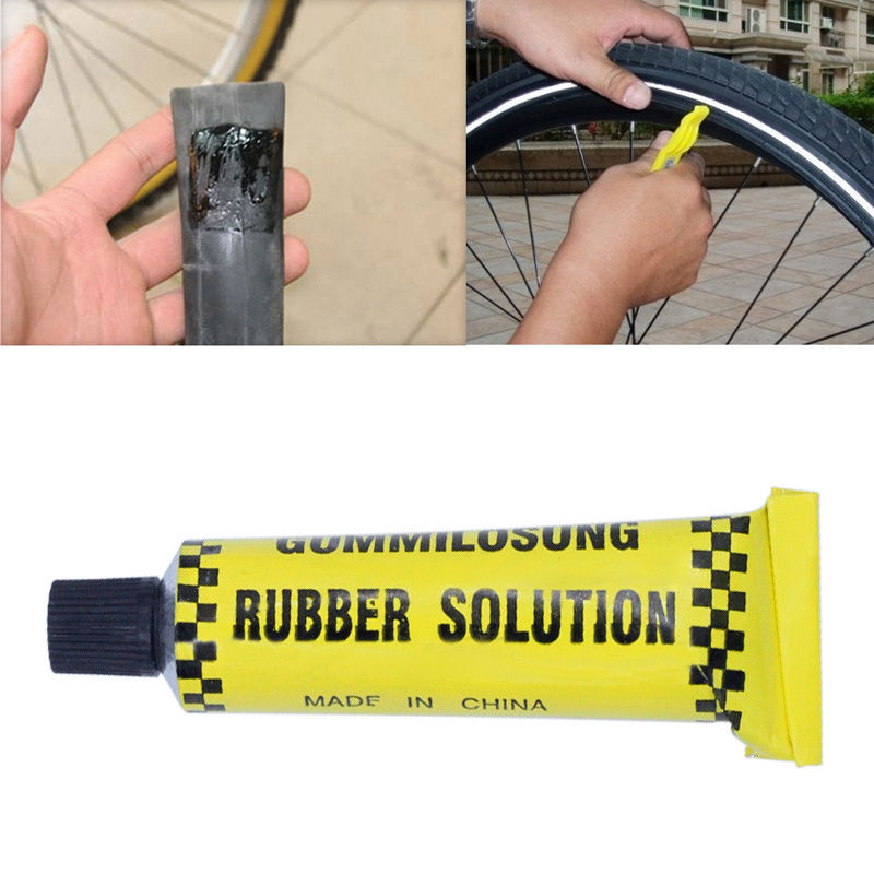 3pcs 10 ML Car Bicycle Motorcycle Tire Repair Road Mountain Bike Tyre Inner Tube Puncture Repair Rubber Cement Cold Glue