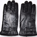 New fashion Male sheepskin finger gloves thickening sheep shearing thermal gloves sheepskin wool winter cold-proof gloves