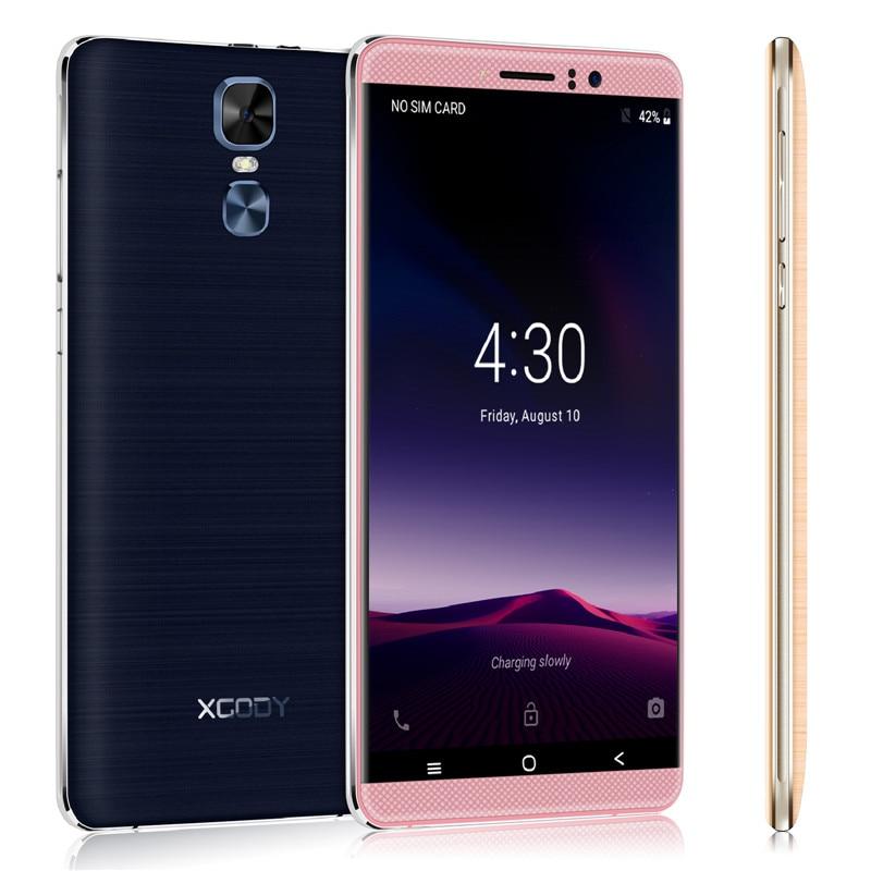 Xgody 8 1 Polegada Quad Core de Smartphones 6.0 GB de RAM GB ROM Android 5.1 Dual SIM Cards Telefone Celular 3G Desbloqueado Telefones Celulares