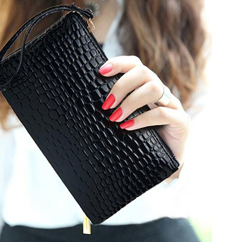 SANWOOD Women Wallet Coin Purse Card Phone Holder Makeup Bag Clutch Handbag Christmas Bag Monederos Para Mujer De Tela Fashion