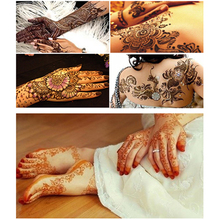 Body Art Henna Tattoo Paste