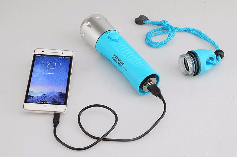 flashlight power bank