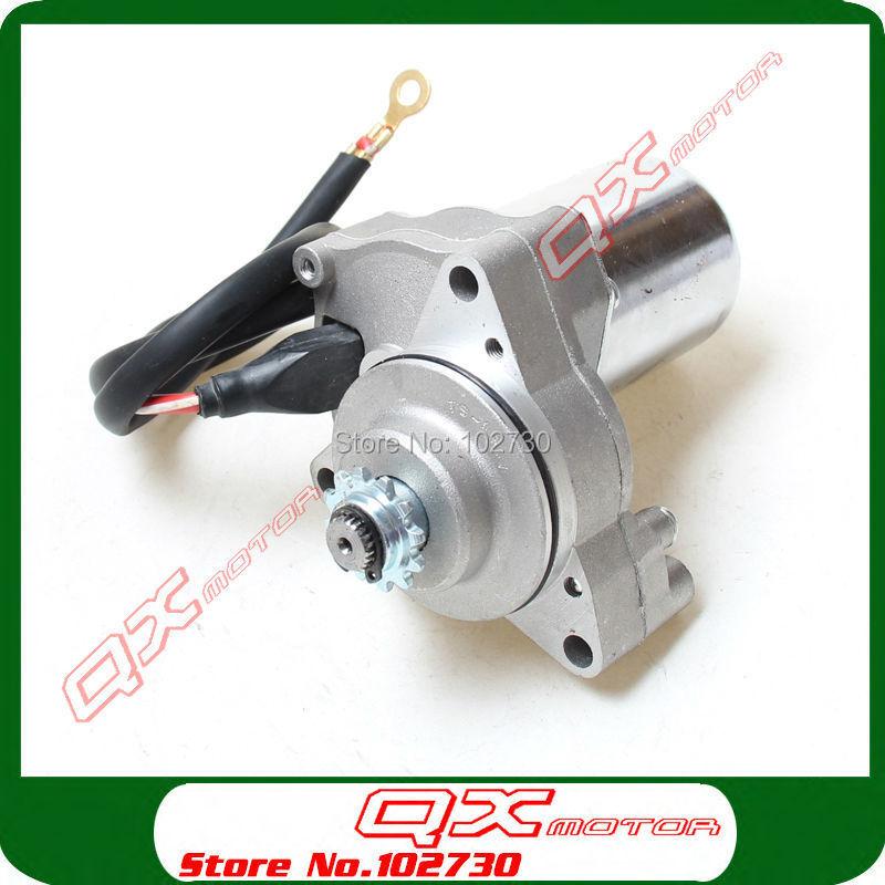3 Bolt Electric Starter Motor For 50cc 70cc 90cc 110cc 125cc 4-Stroke Engine Upper Start Dirt Pit Bikes